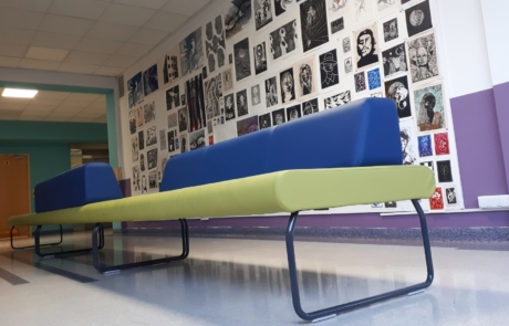 Siedzisko sofa fitout