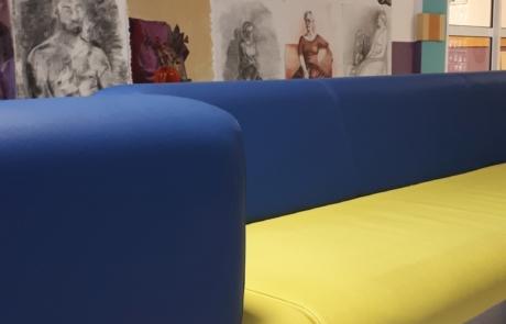 Sofa biuro wnętrza nowoczesne design
