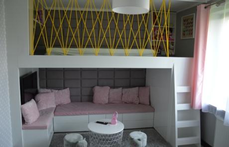 Własny projekt pokój dla dziewczynki