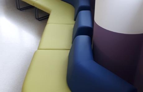 Wnętrza publiczne sofy do biura