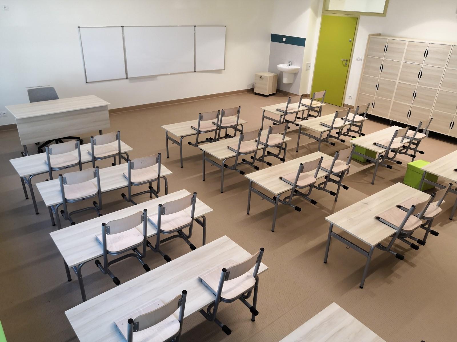 Sala szkolna wyposażenie wnętrz