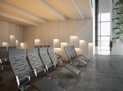 Airpot seat waiting room