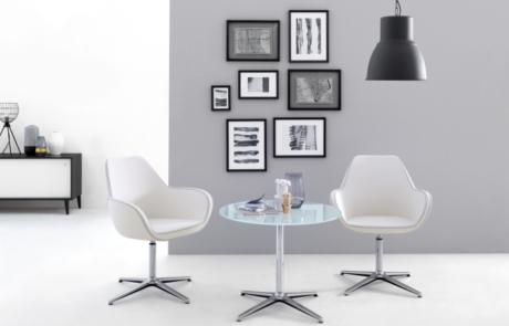 Eleganckie krzesła konferencyjne