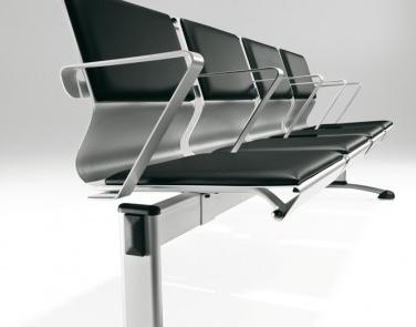 Eleganckie siedzisko poczekalnia