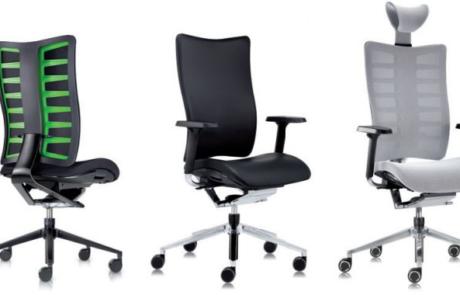 Fotel biurowy dopasowujący się kształtem
