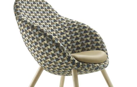 Fotel biurowy nowoczesna tapicerka