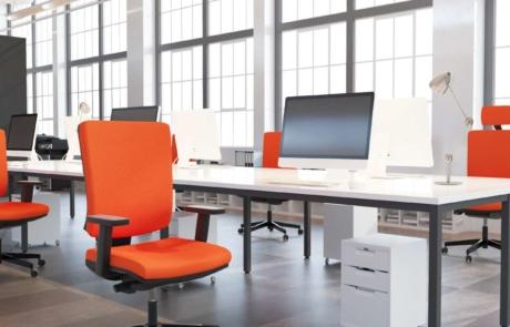 Fotel biurowy wygoda siedzenia