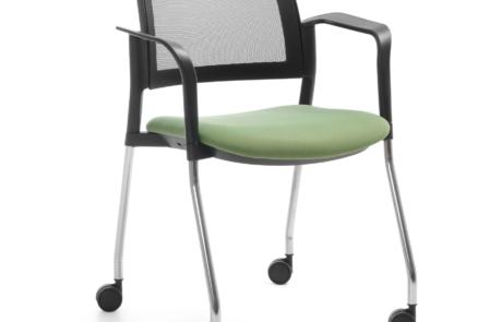 Fotel konferencyjny na kółkach