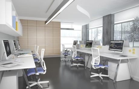 Fotele biurowe dla pracowników