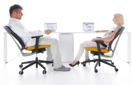 Fotele biurowe zdrowie