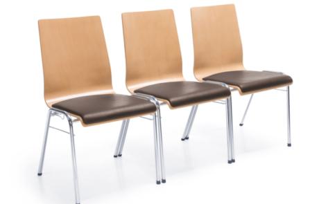 Krzesła konferencyjne drewnienia