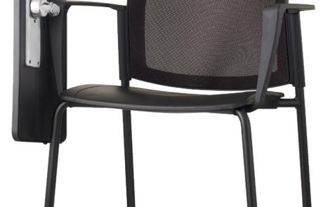 Krzesło do uczelni z pulpitem