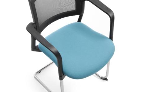 Krzesło konferencyjne oparcie pulpit