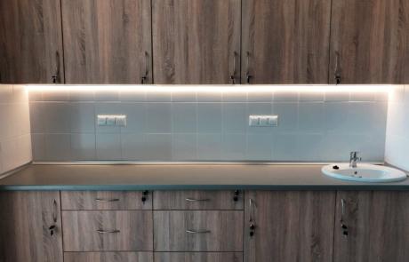 Kuchnia nowoczesne led oświetlenie