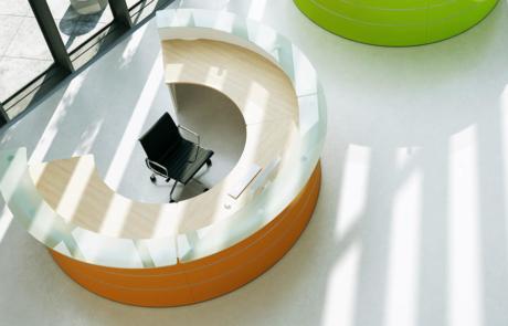 Lada koło wyraziste barwy circle reception
