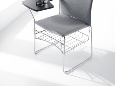 Metal plastik krzesło konferencyjne