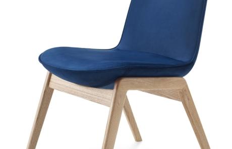 Siedzisko drewniane tapicerowane