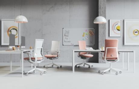 Siedzisko nowoczesne biurowe stylistyka design