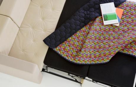 Sofa rozkładana do biura i domu