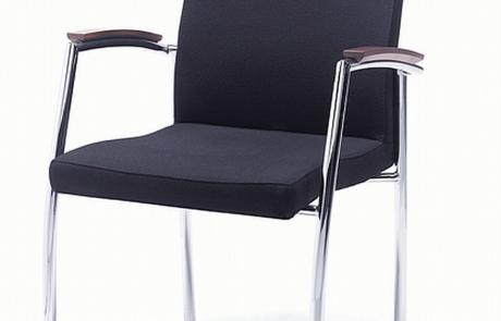 Tapicerowane stylizowane krzesło do sali konferencyjne
