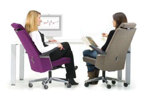 Zdrowe siedzenie