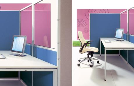Biurowe ścianki do pracy w skupieniu