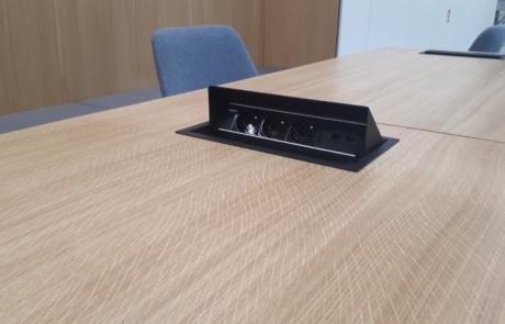Media port lan rj45 power box zasilanie prądem