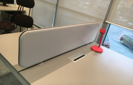 Przegorda MDD między biurkowa
