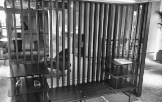 Mdd nowy showroom warszawa przegroda ażurowa