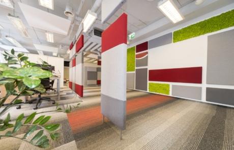 Nowoczesne wykładziny do biura fiout design dla architekta