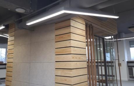 Ażurowy panel dekoracyjny lite drewno