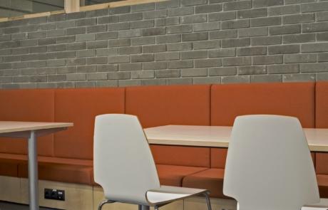 Nowoczesne krzesła kuchnia-sofa-industrialna ceglana ścinana