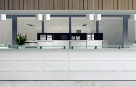 Reception desk new design polska marka