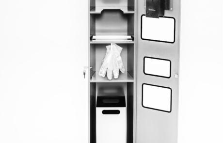 Stacja do dezynfekcji rąk wolnostojące