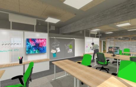 Wizualizacja koncepcyjna biuro