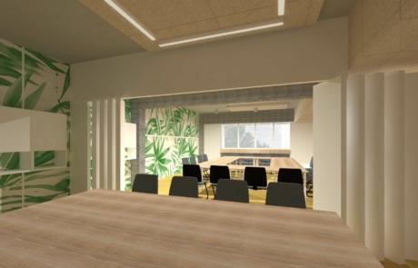 Wizualizacja koncepcyjna sala konferencyjna