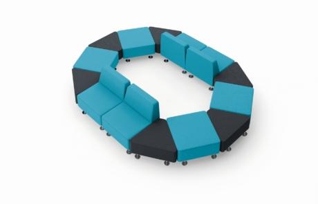 Estetyczne siedziska modułowe