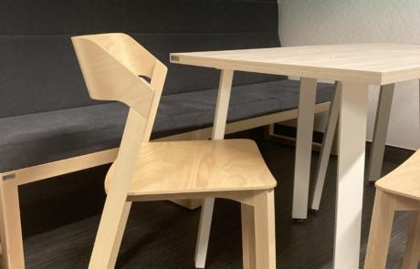 Krzesło kuchenne lite drewno