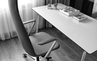Fotel obrotowy Lumi Bejot kunszt design