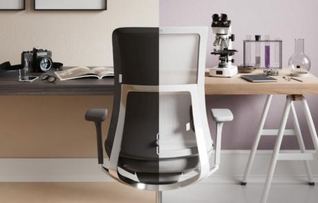 Violle oparcie siatkowe aluminium regulacja podłokietniki fotel