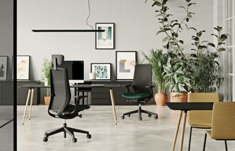 Fotel dla osób długo pracujących